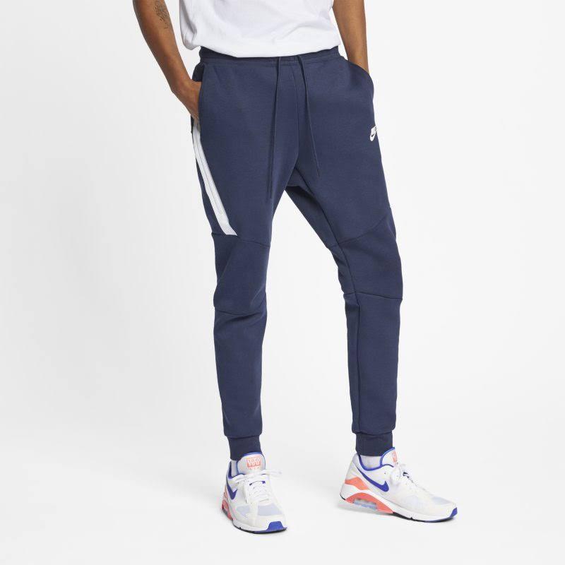Hombre Nike Fleece Para Tech Azul Sportswear Deportivos Pantalones E84xpwFZqq