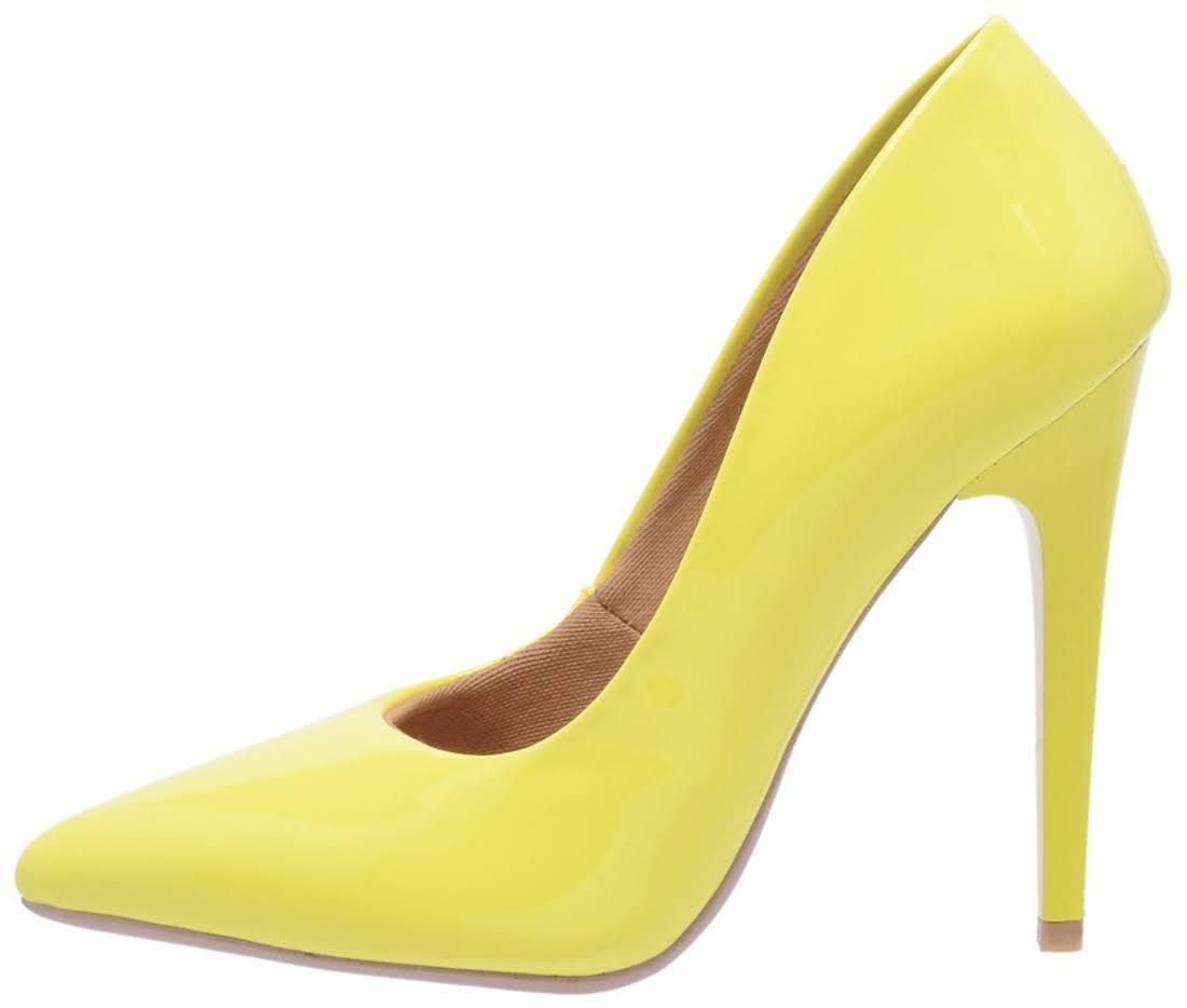 Scarp Amarelo Di Salto Scarpin Calçados Alto zgBYWqw