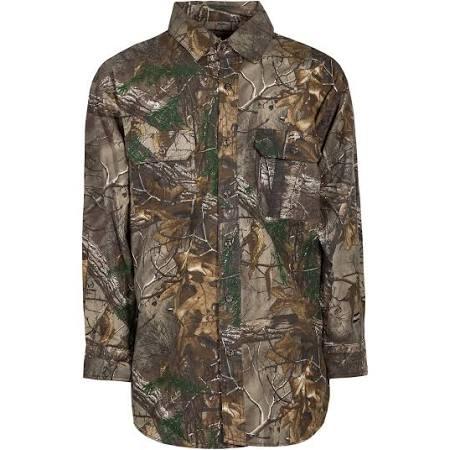 Stalker Verde De Regular 2xl Tamaño Hombre Botones Camisa Regular Para Con Berne q7xIvvFw