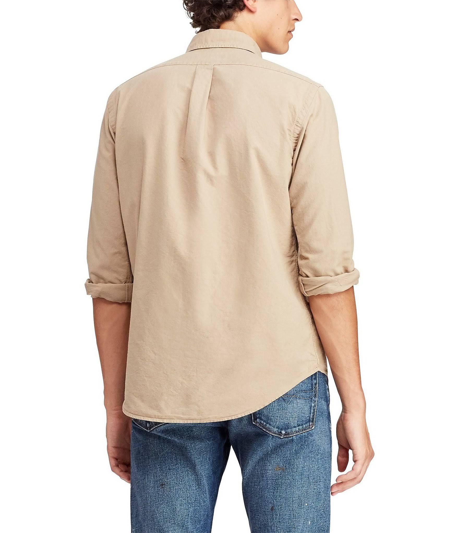 In Tan Klassisches hemd Big Ralph Von Lauren Oxford 4x Größe Surrey OvrOw8q