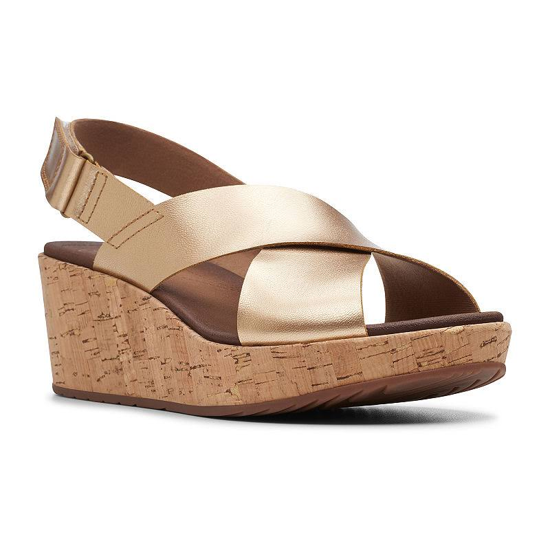 Wedge sandalenmaat Hale 9 gemiddeldBij Stasha Clarks Jcpenney Womens NP80wOknX
