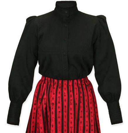 Steampunk größe Larp Gotischer Retro Stehkragen Vampir 2x Muriel Cosplay Damen Pirat Bluse Black Plissee HqFvfvtY