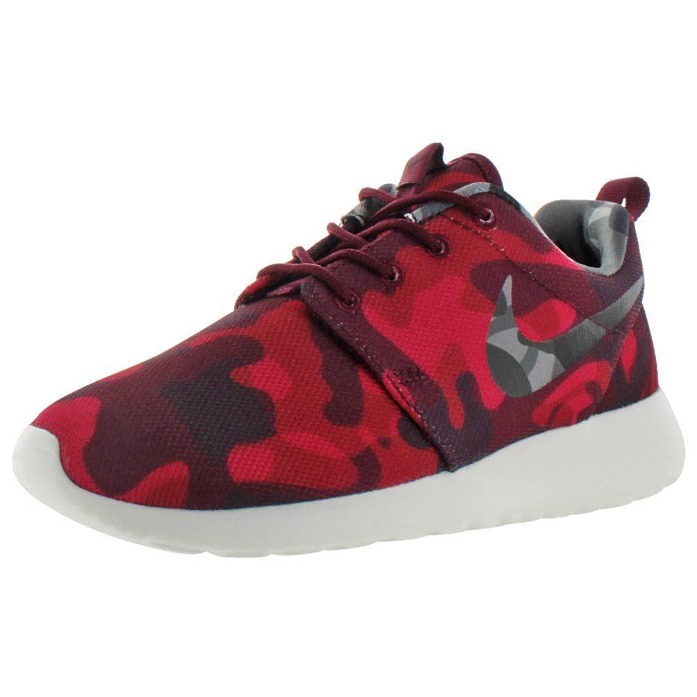 Wmns Garnet vry 6 Camo Womens Berry One 5 Red Roshe Print Deep gym black Runn Size Rosherun Nike Red rqnpw4frO