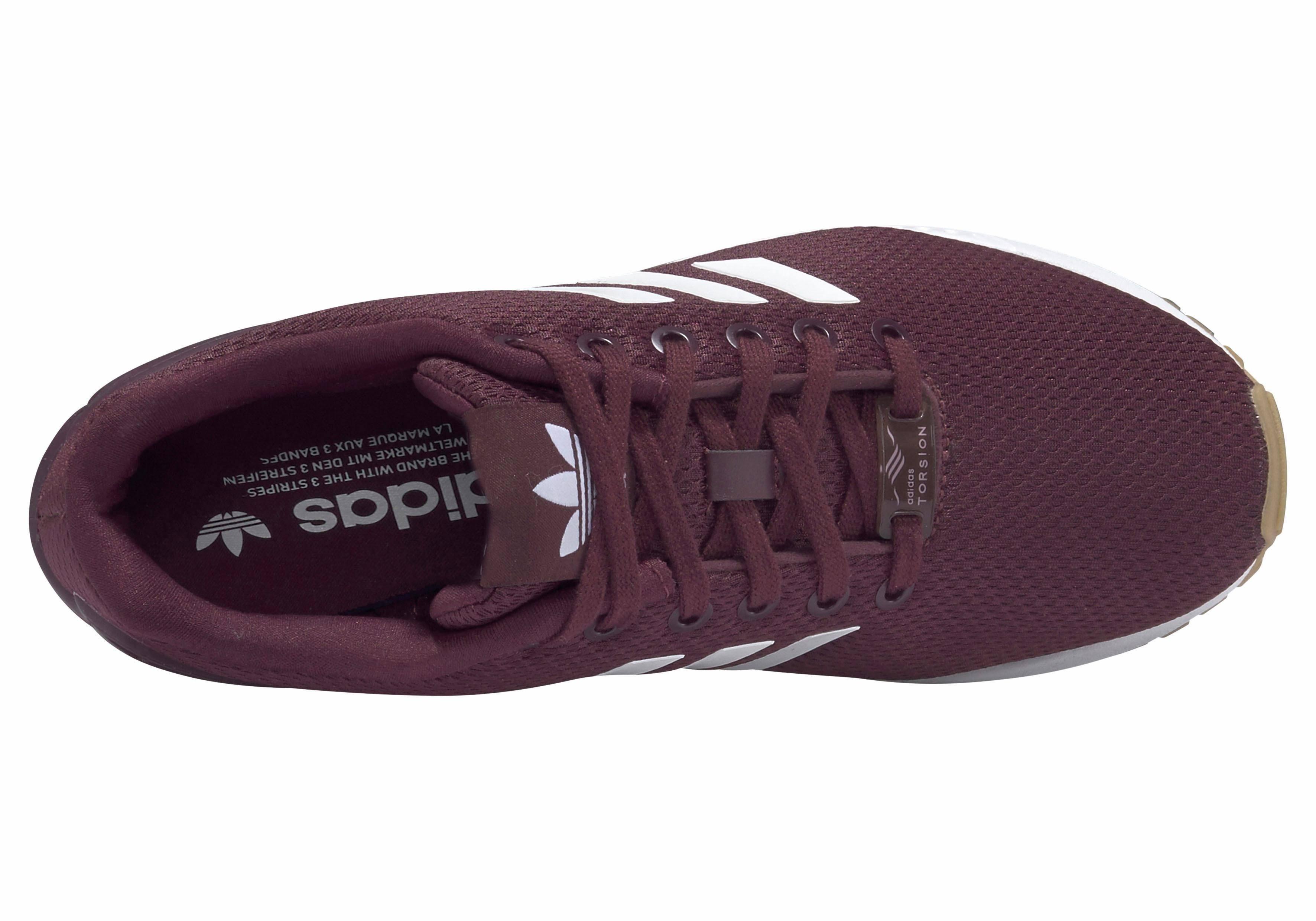 45 crimson Seasonal Originals Zx Adidas rot Bordeaux Rot Red Sneaker Flux qPvxFY
