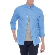Harbor Island Geschnittenes Ralph Blue Polo hemd Eng Oxford Lauren ZwBFWxqYU