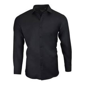 15 Algodón 37 Negro 15 Dolce 0 36 Hombres 5 De Camisa Roma 15 5 Para Vestir Z08wBq8