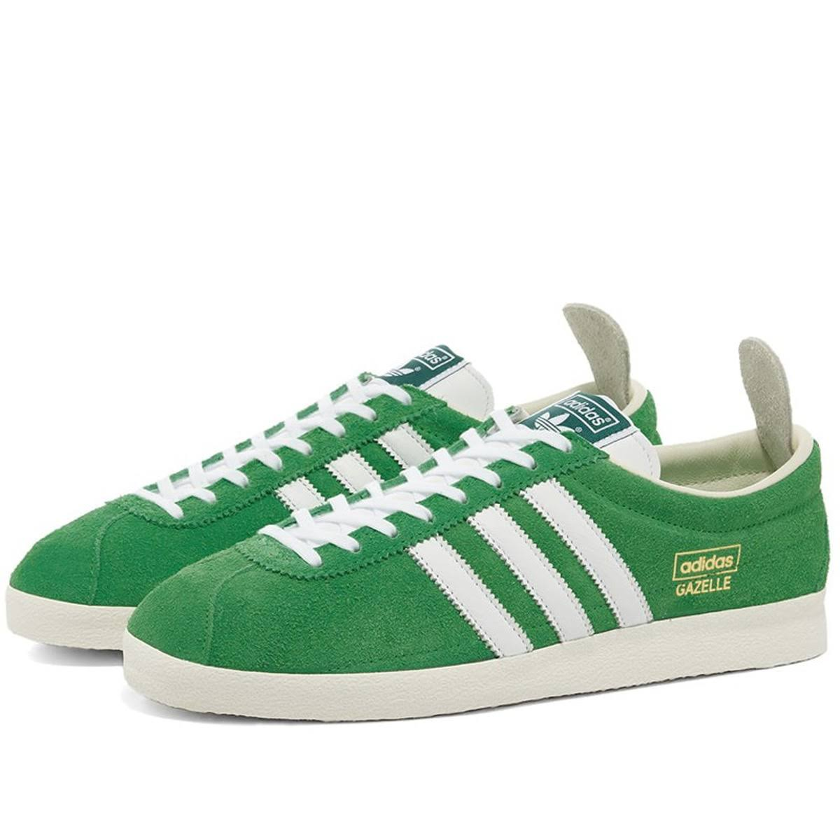 Womens Adidas Originals Gazelle Vintage - Green - 3.5