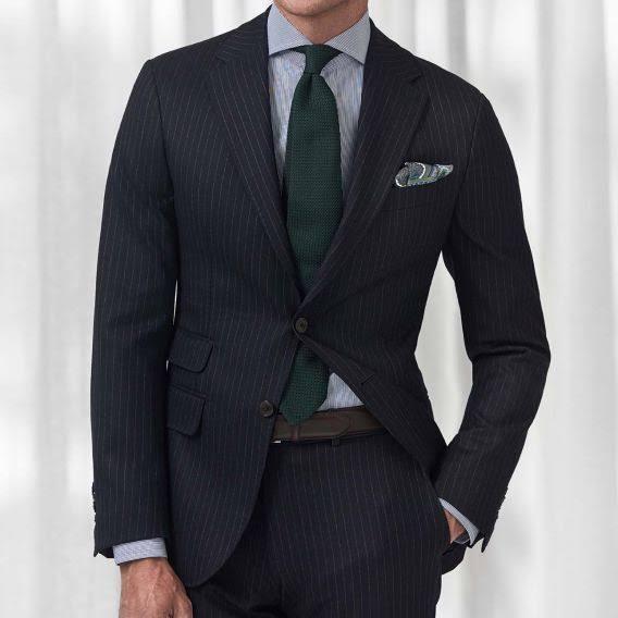 15 Gestreiftes Größe Contemporary Fit Eton Businesshemd Men's 5 Blau PA0CqAw4x