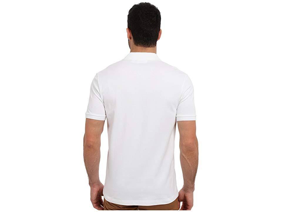 Polo Slim Blanco Para Lacoste Stretch Tamaño Hombre 6 De xl Fit ZxrxtE