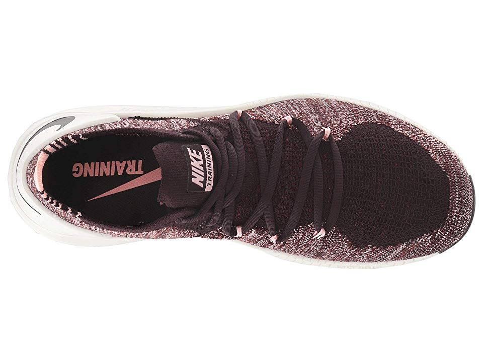 De Talla Free Borgoña 942887662 Flyknit Tr Ceniza Nike Zapatos Mujer 3 9 ZXqw6746