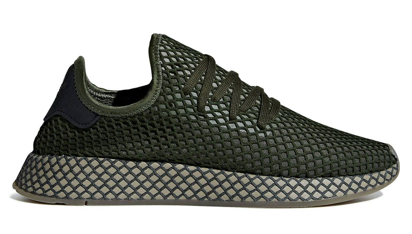 Runner Base Adidas Green 5 Deerupt 5 H1CqxfF
