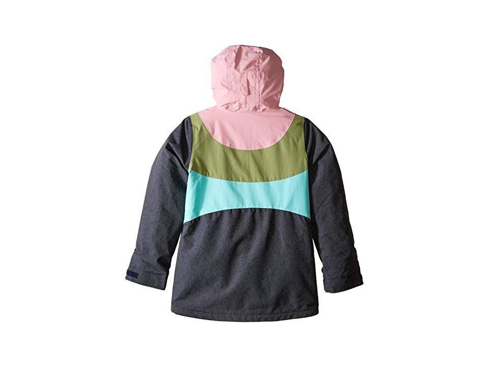 M Aruba Jacket Aruba Burton Mosstone Sea Denim Pink Hart Girls Hq08B