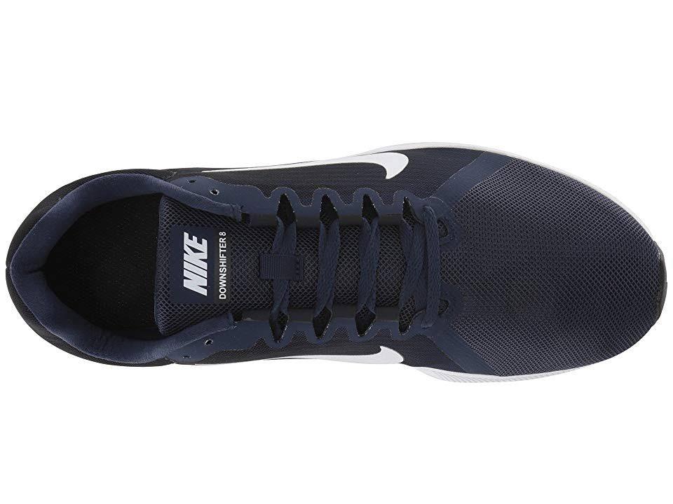 Nike Downshifter 8 Herren Navy Midnight Weiß 9 Laufschuh qSRgqx