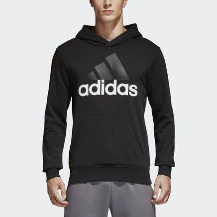Essentials cappuccio adidas Linear Felpa con kX8wNn0ZOP