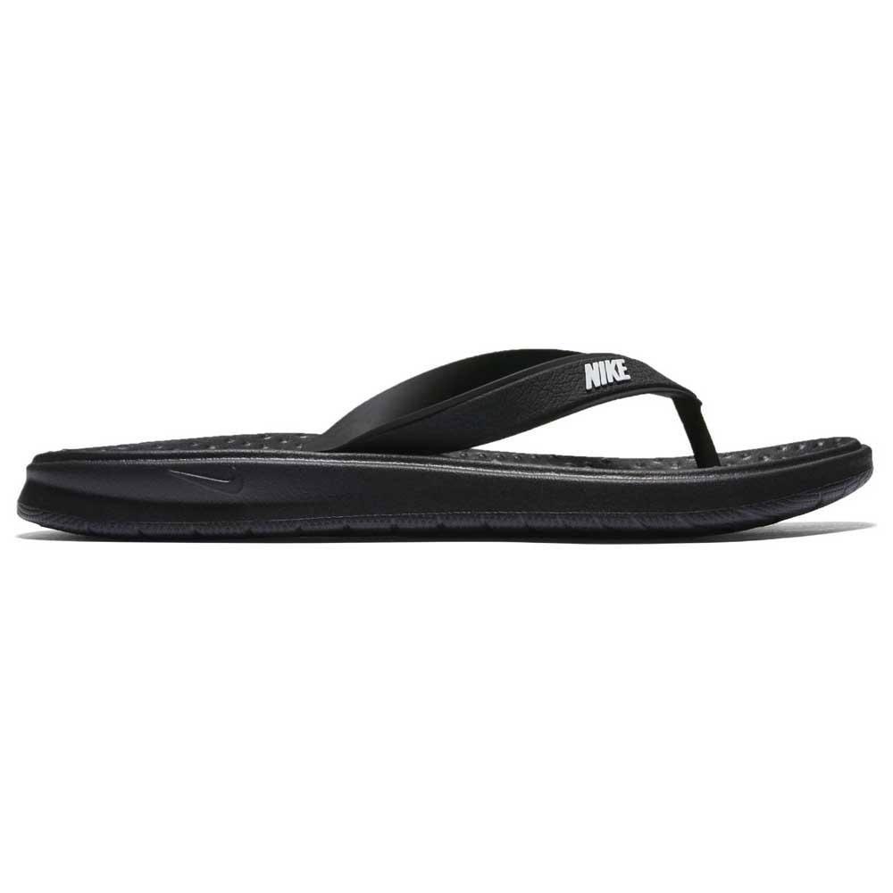 6 Nike Flip Frauen Weiß flop Solay Schwarz Größe schwarz rAWAB4p