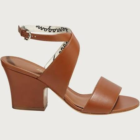 Salvatore Ferragamo Women Sandal Brown Size 5.5  MkCoxm