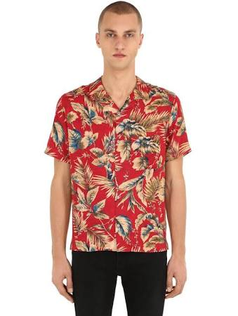 Hawaiana Camisa Kooples Multicolor Los Estampada Viscosa S Hombre qf1xw6