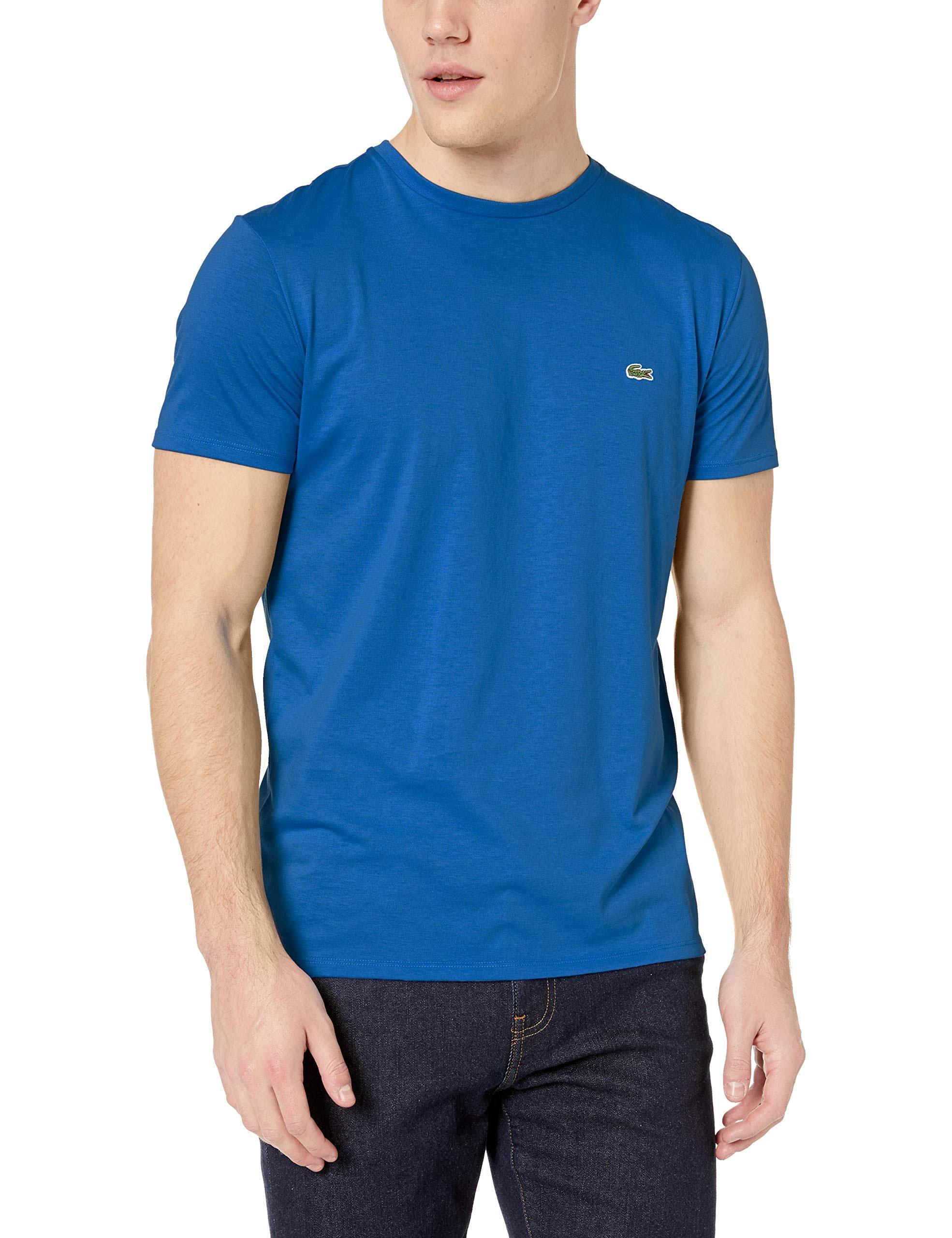 Herren Baumwolljersey Lacoste z7z shirt T Th6709 Pima Stil Iawxqw4OC