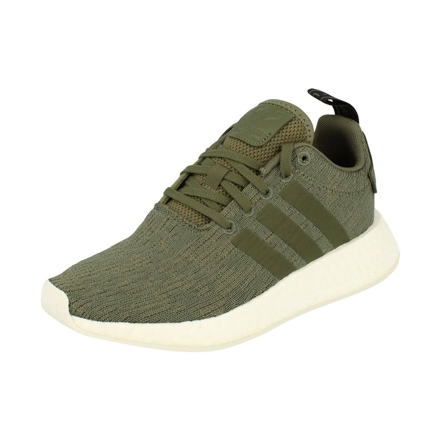 (8 (Adults')) Adidas Originals Nmd_R2 Womens Running Trainers Sneakers