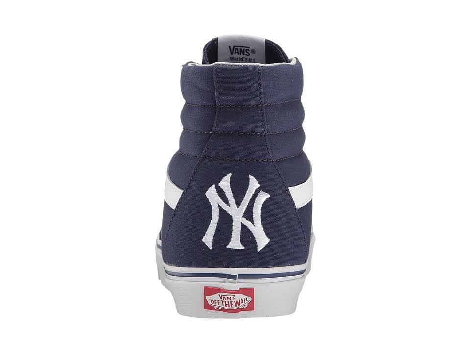 navy Mlb Vans Sk8 yankees hi York new Y70wT7q