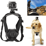 Pets Harness Back & Chest Belt Mount for GoPro HD Hero Camera Adjustable Strap Dogs' Perspective