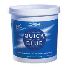 Loreal Quick Blue Powder Bleach