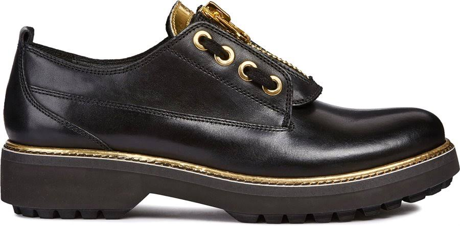 Asheely Plus 5 Damenschuhe Black Geox Größe 5TFqwx