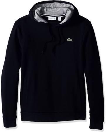Silber Hoodie Herren Blau Navy Chine Sport Sweatshirt Lacoste Fleece g0dFwqx
