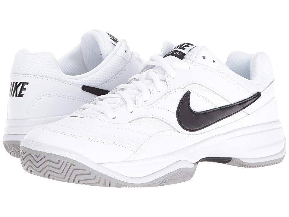 Tennis White Men's Court Lite Nike gray black Shoes White 8tOwXYz