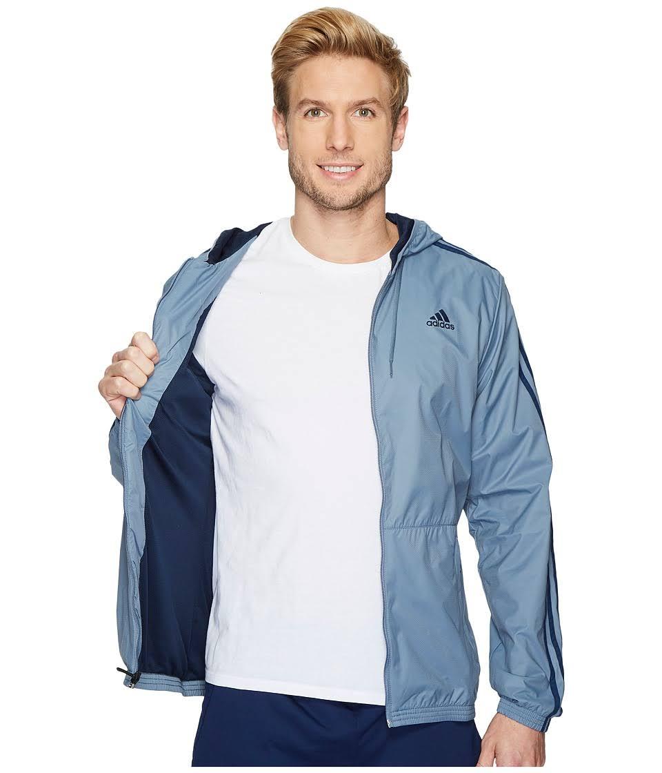 Größe Adidas Herren Woven Med Small Blue Regular Jacke RtCPxnq4