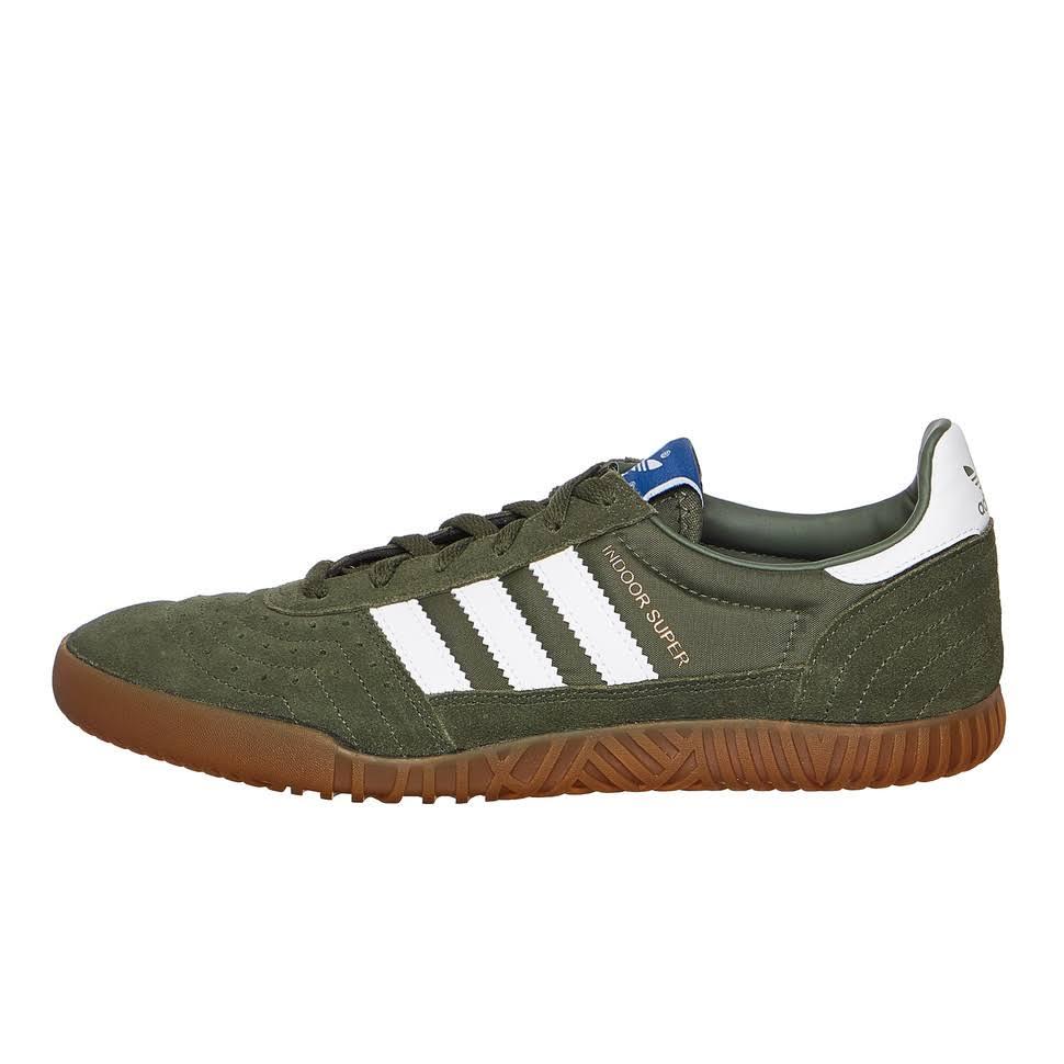 Herren 41 Base White 1 Indoor Calzado Gum 3 4 Eu Super Adidas Green qEw7xAgwz