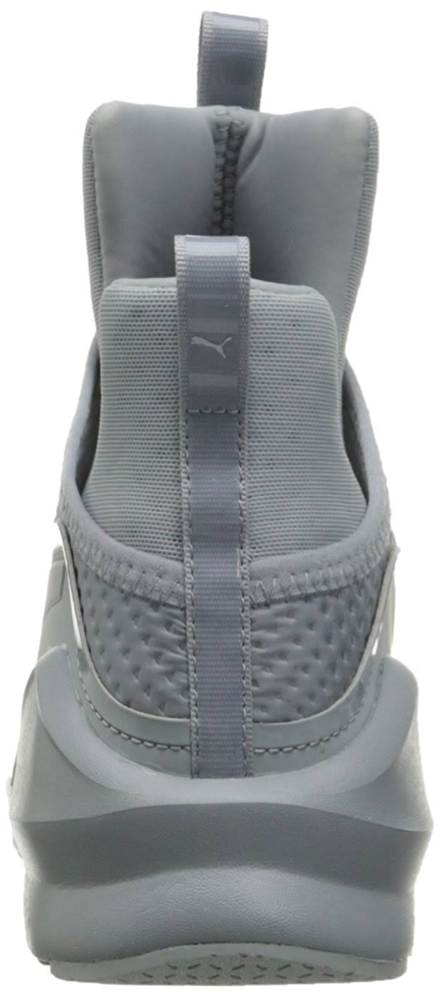 Fierce Women's Silver Cross Quarry Shoe Quilted puma trainer Puma 5AdPq5F