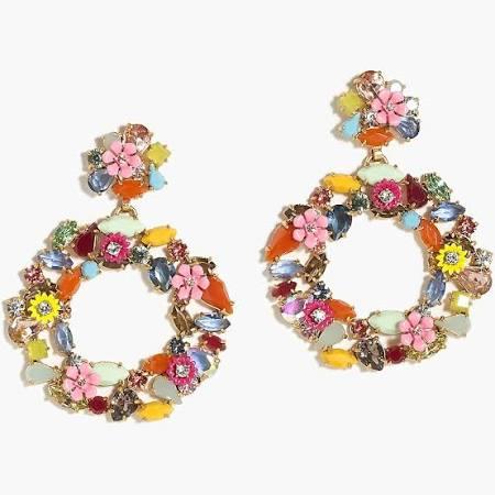 winter wardrobe earrings