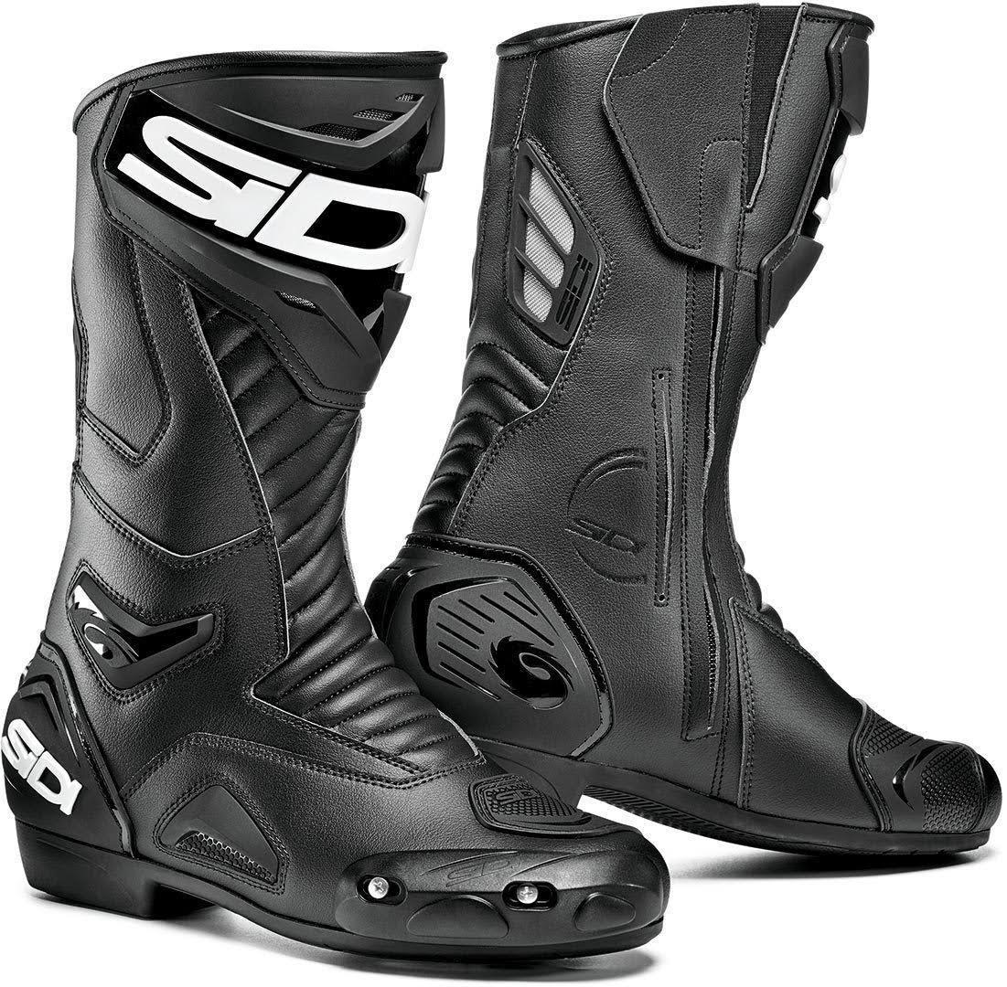 Motorcycle Sidi nero Shoes Black37 Performer 54Ajq3RL