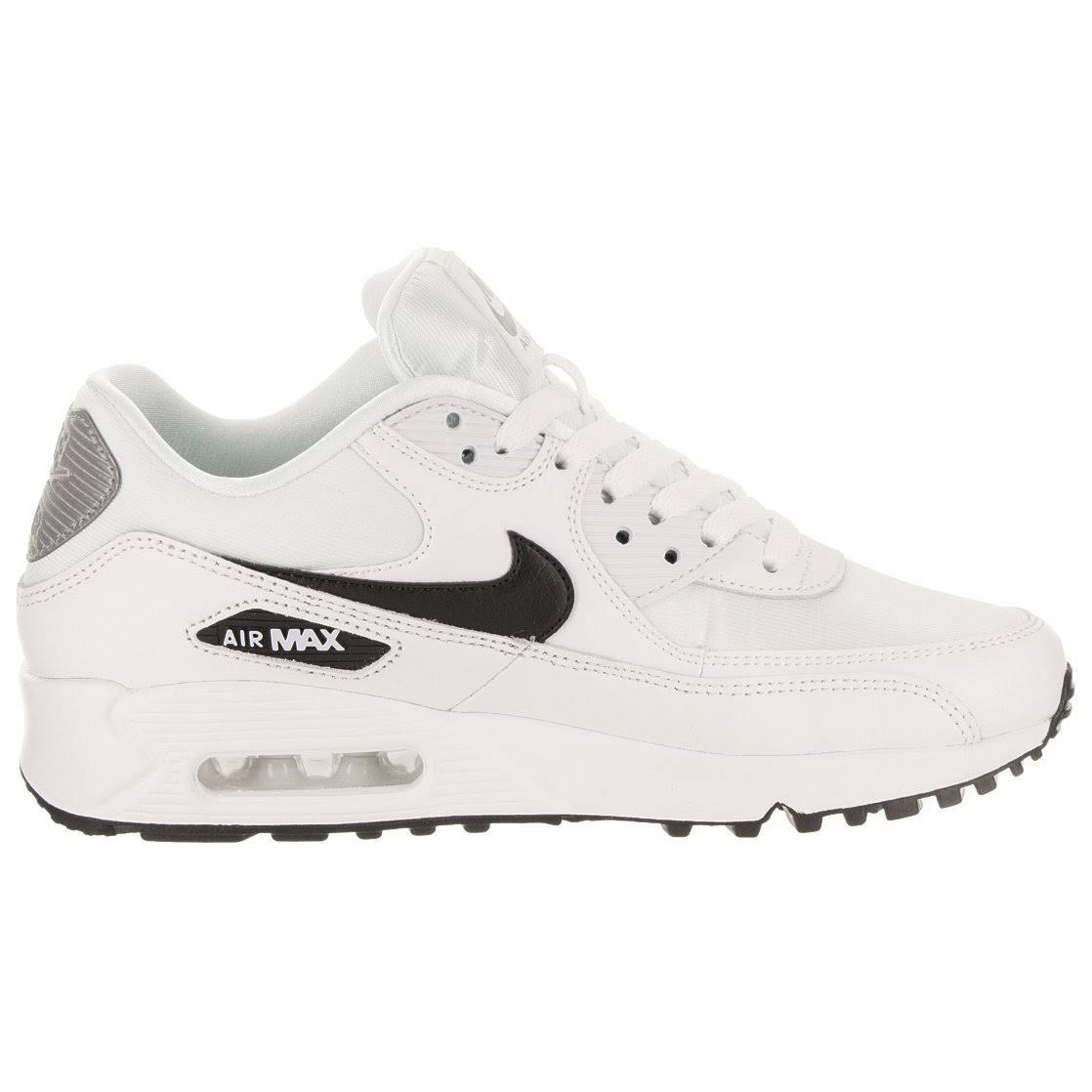 Negro 90 Blanco Silver Nike Air Hombres Reflect Max RfzwxX