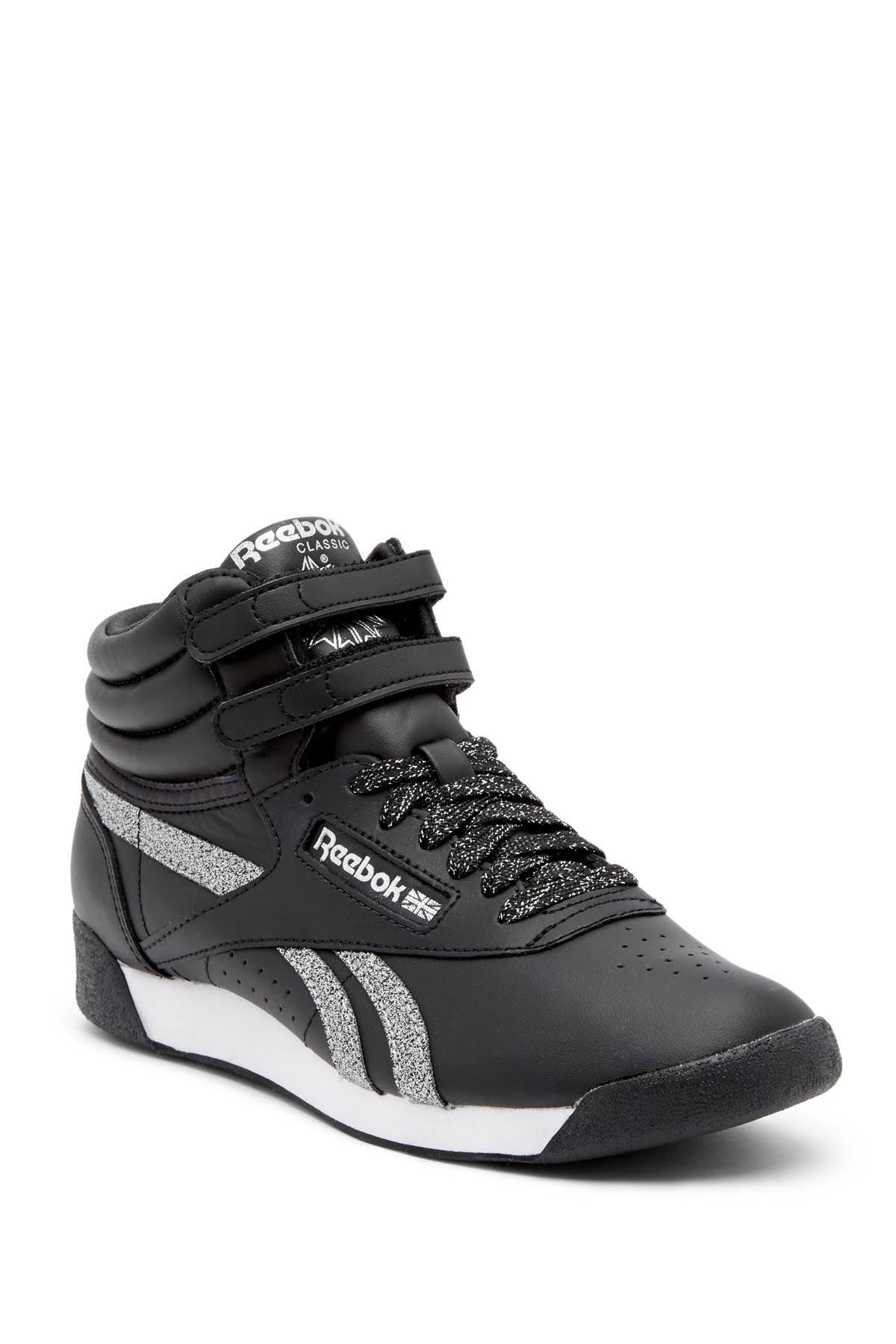 White Freestyle Black Women Hi Silver Met Reebok Shoes wZxFqX4z