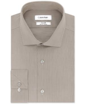 Fit Non Slim Iron Klein Stretch Herrenhemd Calvin XawqYETx