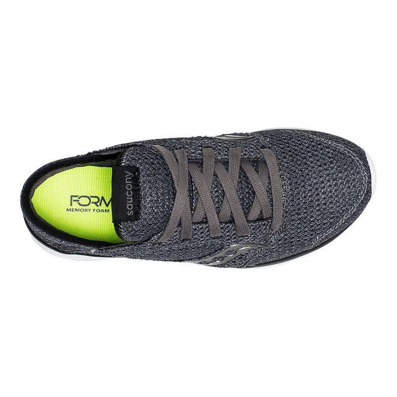Saucony Relay Women's Shoe Running Kineta 10 Charcoal Medi Charcoal wrw6ZxEUq