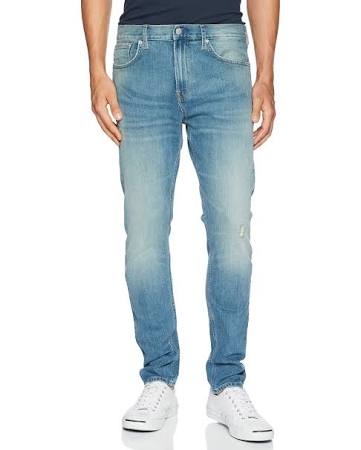 Klein Calvin Para Hombres Ajustados Jeans zzrwdq