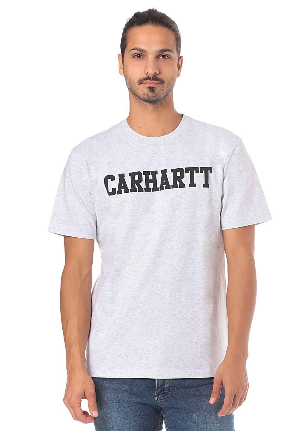 Men's Ashheather Wip Carhartt darknavy College S tsdhQxrCB