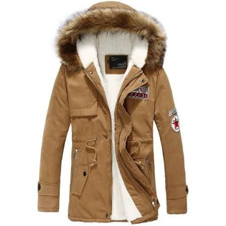 Hiver Herren Winterjacke Costbuys Aus Neue Xxxl Gepolstert Khaki Baumwolle Daunenjacke Manteau Parka Homme Pelzkragen xA11PtRZn