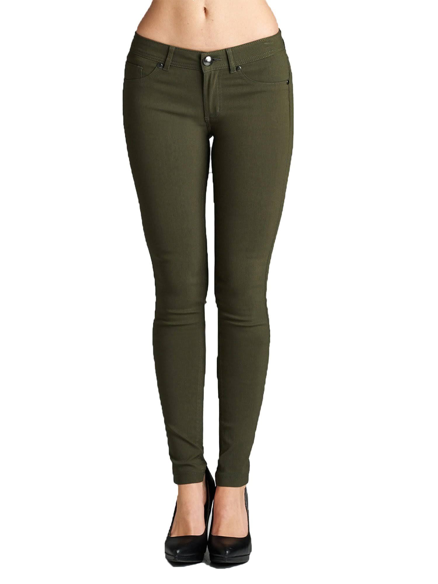 Bas Emmalise Basic Leggings Skinny Jeans En Jeggings De Femmes Collants Spandex Pour ppnr0Bq