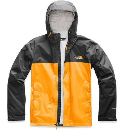 The Face Gris 2 Asfalto Zinnia Impermeable North Naranja Para Venture Hombre tamaño Xs Chaqueta wATxqCC