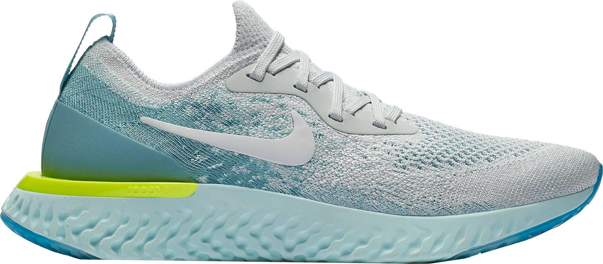 Nike Epic Aq0070008 Para Flyknit Mujer React 10 Zapatillas Running De Tamaño rrBpT1qwd